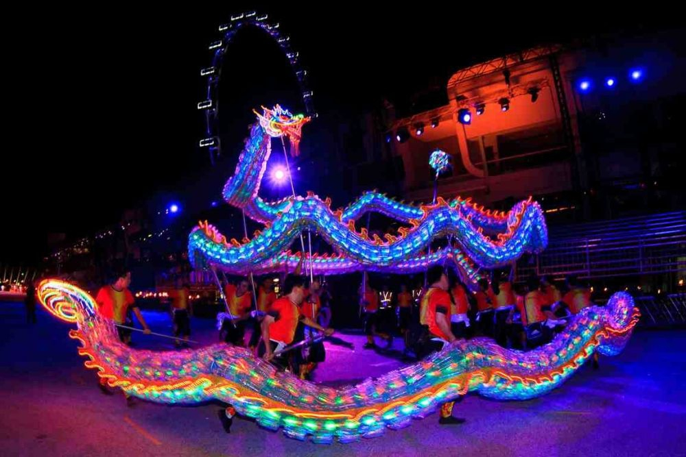 Chingay Parade 2013- Eco Dragon. Photo Courtesy PA