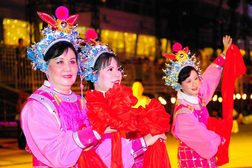 Chingay Parade 2013- Opera. Photo Courtesy PA
