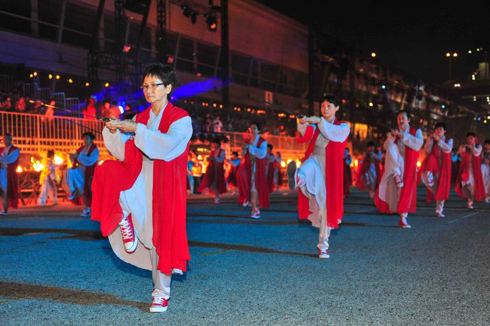 Chingay Parade 2013- Taichi Sword. Photo Courtesy PA
