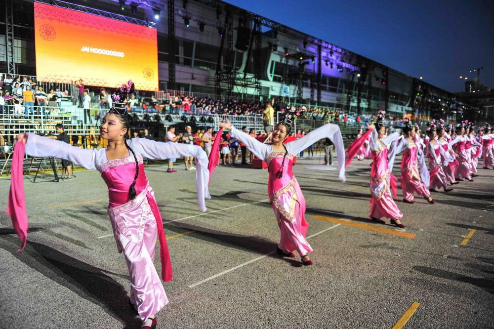 Chingay Parade 2013- Peach Blossom. Photo Courtesy PA