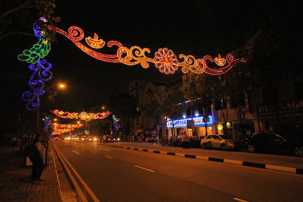 Serangoon Road at Night