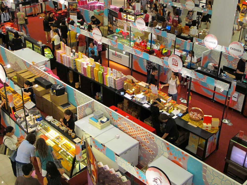Stalls of Mooncakes