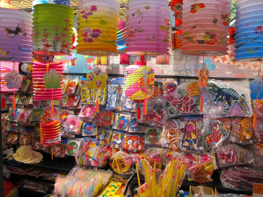 Lanterns Sold during Mid Autumn Festival
