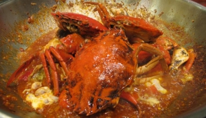 My Destination Singapore Kitchen- Chilli Crab