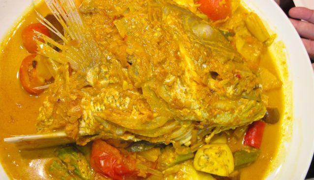 My Destination Singapore Kitchen - Fish Head Curry | My ...