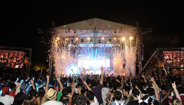 Siloso Beach Party. Photo Courtesy Sentosa