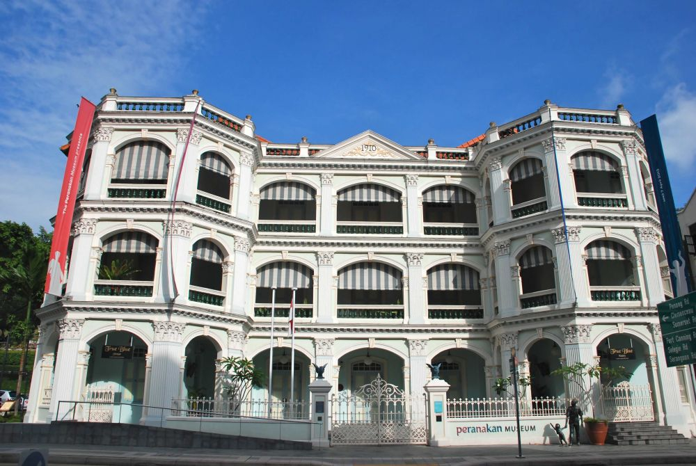 The Peranakan Museum in Singapore
