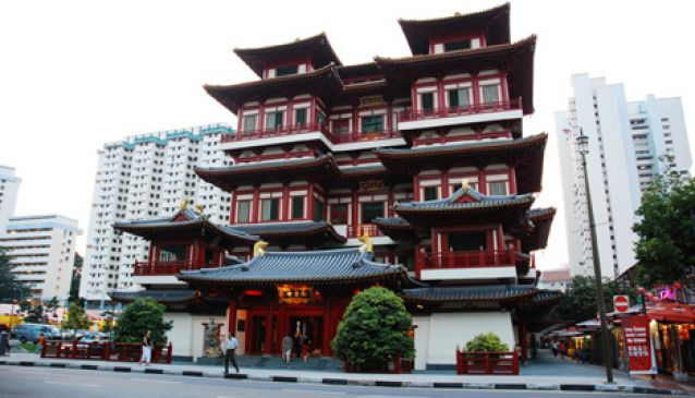 China Town, Buddha Tooth Relic Temple