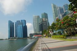 Central Business District, new Skyscrapers, Singapore