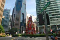 Central Business District CBD Raffles Place Area Singapore
