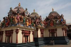 Hindu temple in Chinatown Singapore
