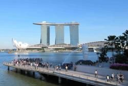 Marina Bay Sands, Merlion, Singapore
