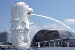 Merlion, Esplanade, Singapore