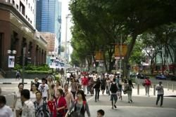 Busy Orchard Road, Singapore