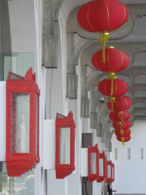 Chinatown- Red Lantern Perspective