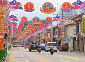 Deepavali 2013- Street Decorations in Little India