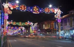 Deepavali 2013- Street Lights in Little India
