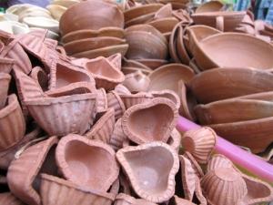 Deepavali Oil Lamps