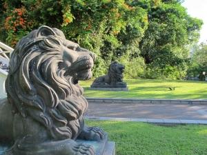 Fort Canning Park Lion Statues
