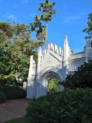 Fort Canning Park- White Gate