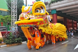 Lion Dance during Chinese New Year
