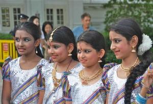 Little Dancers of Indian Descent