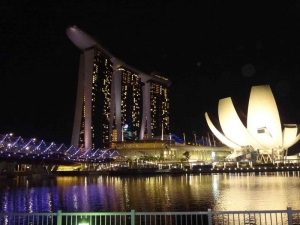 Marina Bay Sands and Art Science Museum