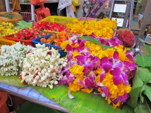 Offering Flowers in Little India