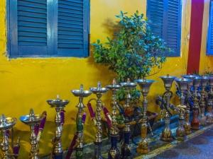 Row of Shishas