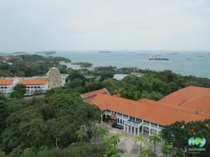 Sentosa Island from Above