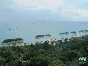 Sentosa Island's Beaches