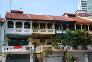 Shophouses on National Day
