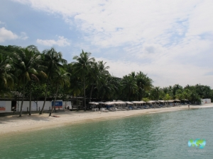 Silloso Beach, Coastes Beach Club Sentosa Island