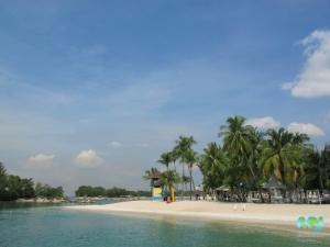 Siloso Beach- Sentosa Island