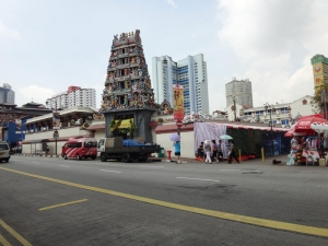Sri Mariamman Temple in China Town