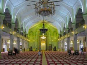 Sultan Mosque- Prayer Hall