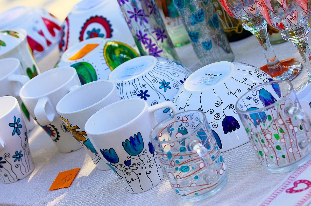 Handmade products (Photo © Rastislav Krähenbil)