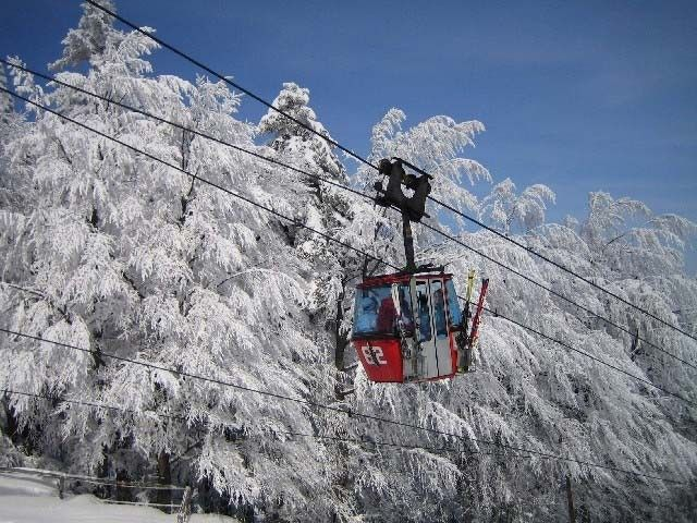 Mariborsko pohorje Ski Resort ? Amazing view from the ski gondola