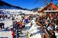 Kranjska Gora Ski resort ? Ultimate relaxing in ski bar on the edge of the slope