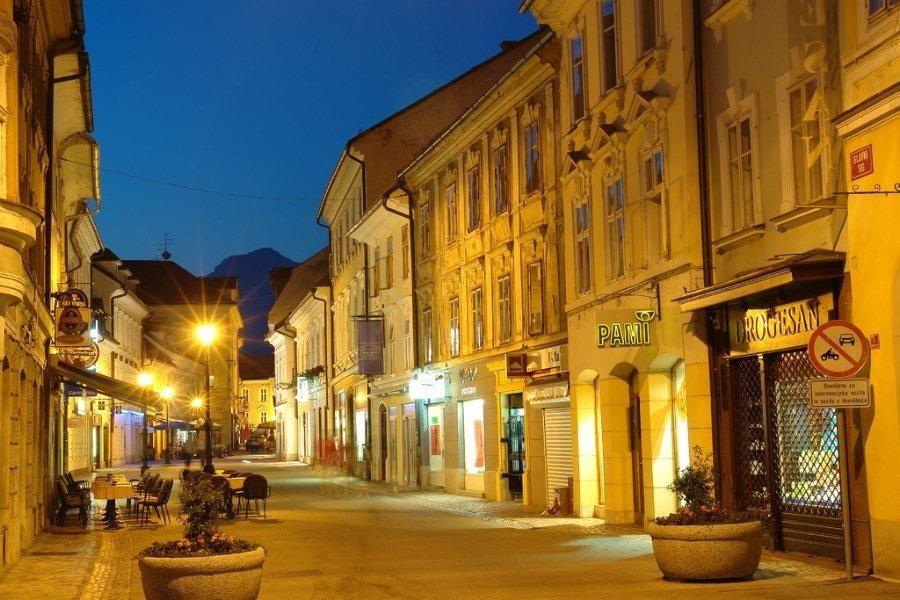 Kranj; Credits: Slovenian-Alps.com Author: Bogdan Kladnik