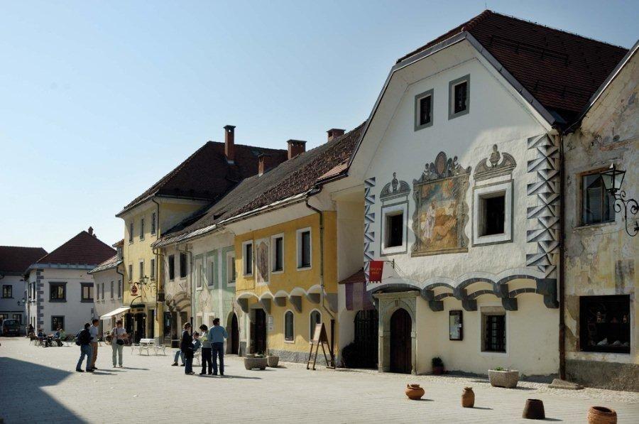 Radovljica; Credits: Slovenian-Alps.com