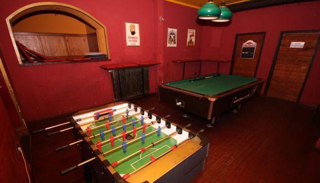 Korner bar