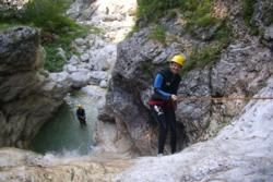 Canyoning in Slovenia