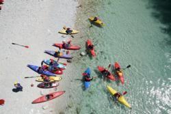 Kayaking in Slovenia