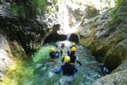 Natural Aqua Park in Slovenia