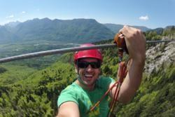 Zip Line in Slovenia