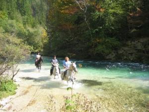 Jahanje ob reki; S: Slovenia.info; A: Sava Hoteli