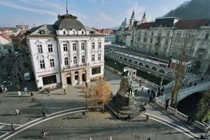 Pre?ernov trg; S: Slovenia.info; A: D. Wedam
