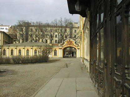 Museum entrance, Sheremetev Palace