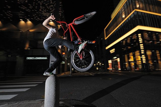 BMX biking taiwan / Photo courtesy of Shinobu Sugiyama